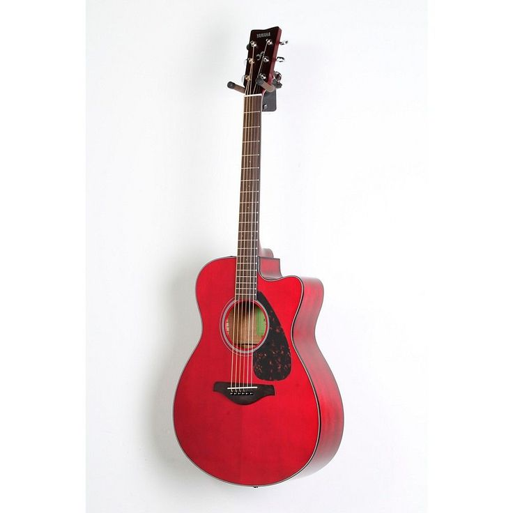 Yamaha FSX800C Small Body Acoustic-Electric Guitar Ruby Red 888366040591