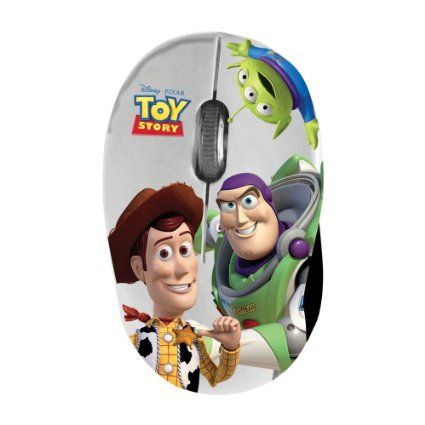 Disney MM295 Mini Maus USB 2.0 1000 DPI ausziehbares Kabel Disney Toy Story