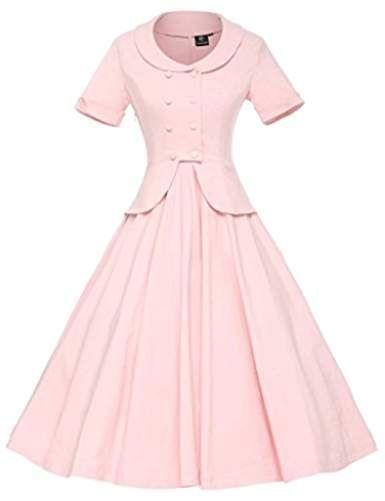 Womens Vintage 1950s Retro Rockabilly Prom Dresses