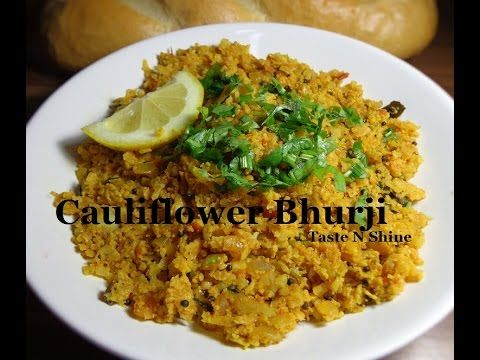Cauliflower Bhurji | Gobi Bhurji | Scrambled Cauliflower recipe
