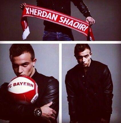 Xherdan Shaqiri ♡ Foot trooop beau*___*♡♥trooop chou *__*♡♥ sexy Xs Fc Bayern Munich suisse la classe ♥