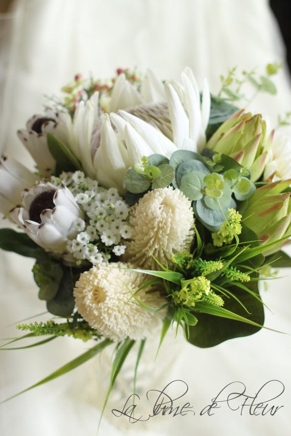 Matilda Bride's bouquet. Australian natives. by LaPlumeDeFleur