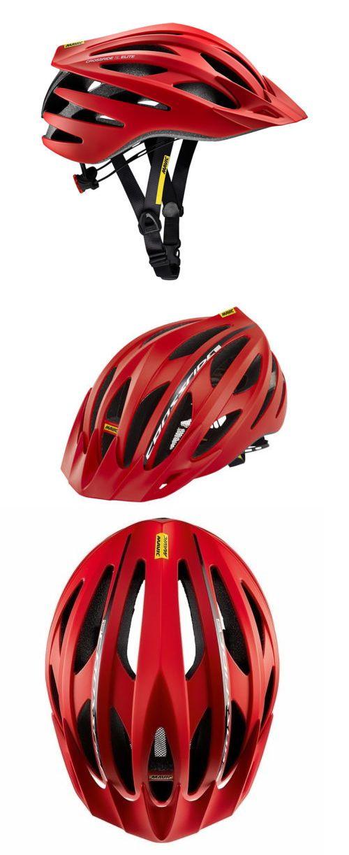 Helmets 70911: Mavic Crossride Sl Elite Helmet Medium 54-59Cm Red Mtb Mountain Bike New -> BUY IT NOW ONLY: $54.99 on eBay!