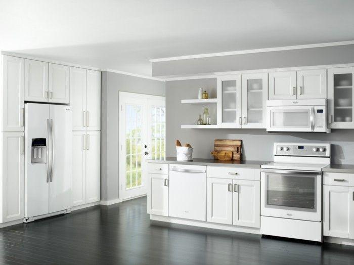 белый кухонный гарнитур фото белая кухня фото ...
