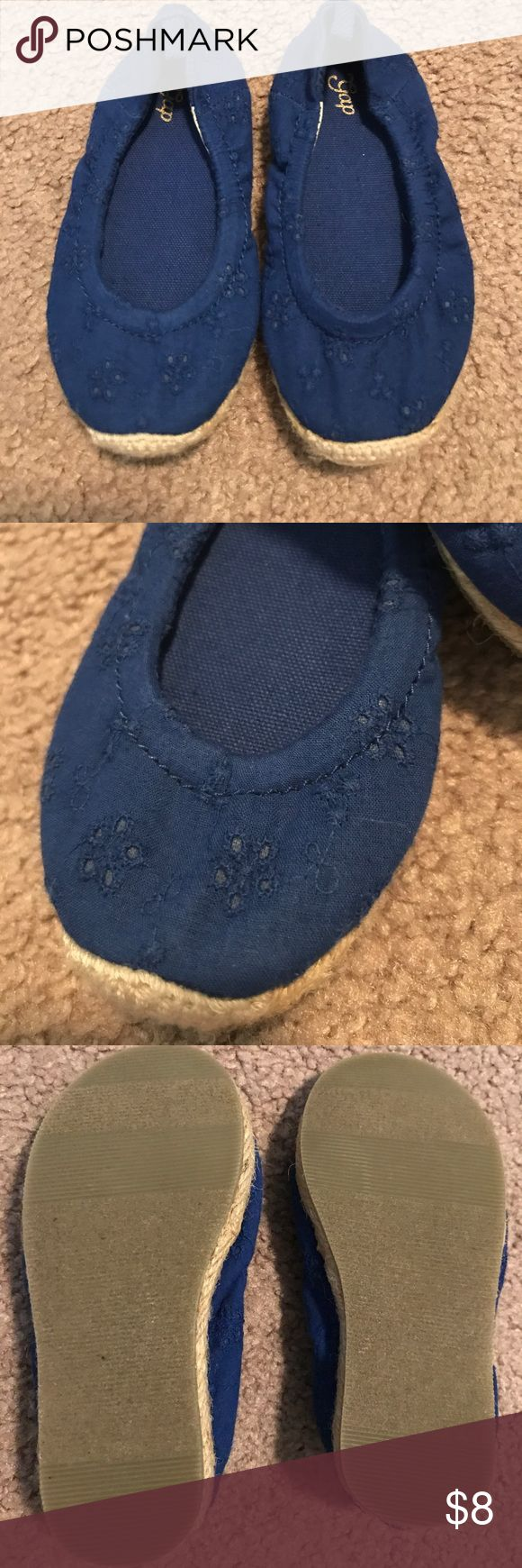 Baby Gap shoes Blue toddler shoes in good condition Baby Gap Shoes