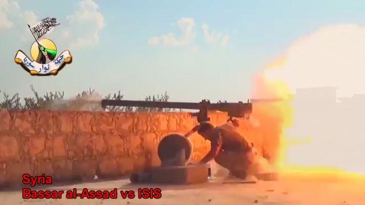 War in IRAQ & Syria 2014 Fights around Kobani, Damask, Jobar / ISIS