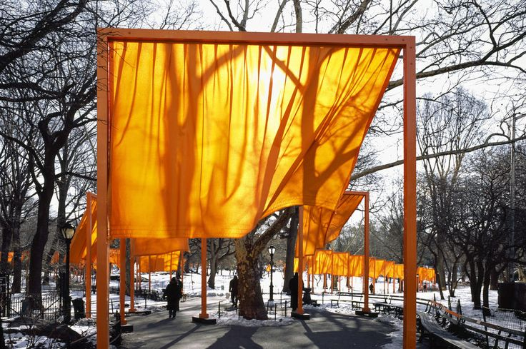 The Gates * Central Park, New York City, 1979-2005 Christo et Jeanne-Claude