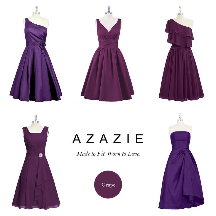 AZAZIE is the ultimate online destination for custom bridesmaid dresses. Shop from 300+ styles in Grape.