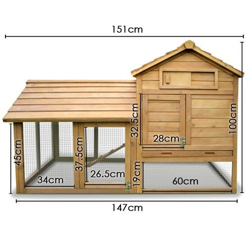 Chicken Coop - For the Cats' Litter trays to go outside.