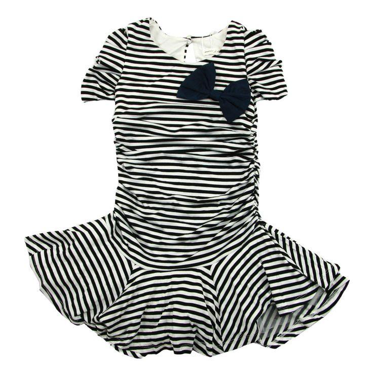 Black Striped Dress - $ 29.99