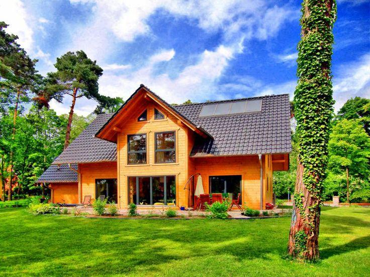 52 besten Holzhaus Bilder auf Pinterest   Blockhäuser, Wohnideen und ...