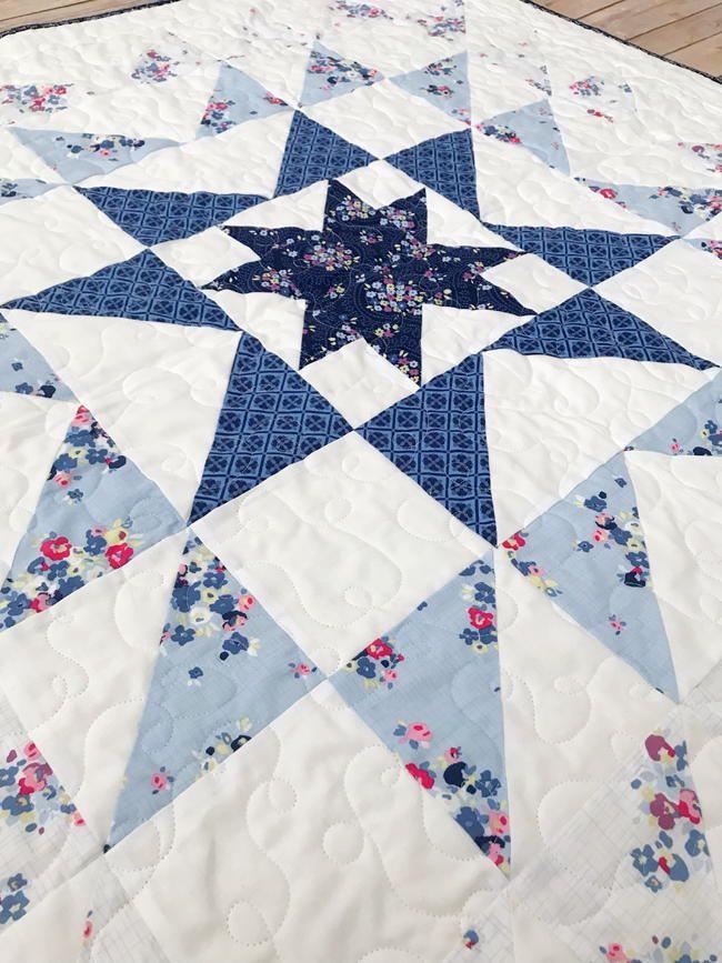 Blue Carolina Starburst Quilt Pattern Star Quilt Patterns Stunning Pinterest Quilt Patterns