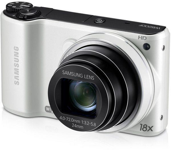 WB200F Smart WiFi Advanced Compact Digital Camera - White