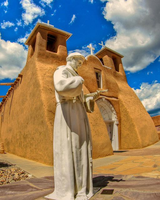 a different perspective, Rancho de Taos, New Mexico ~ by Marvin Bredel