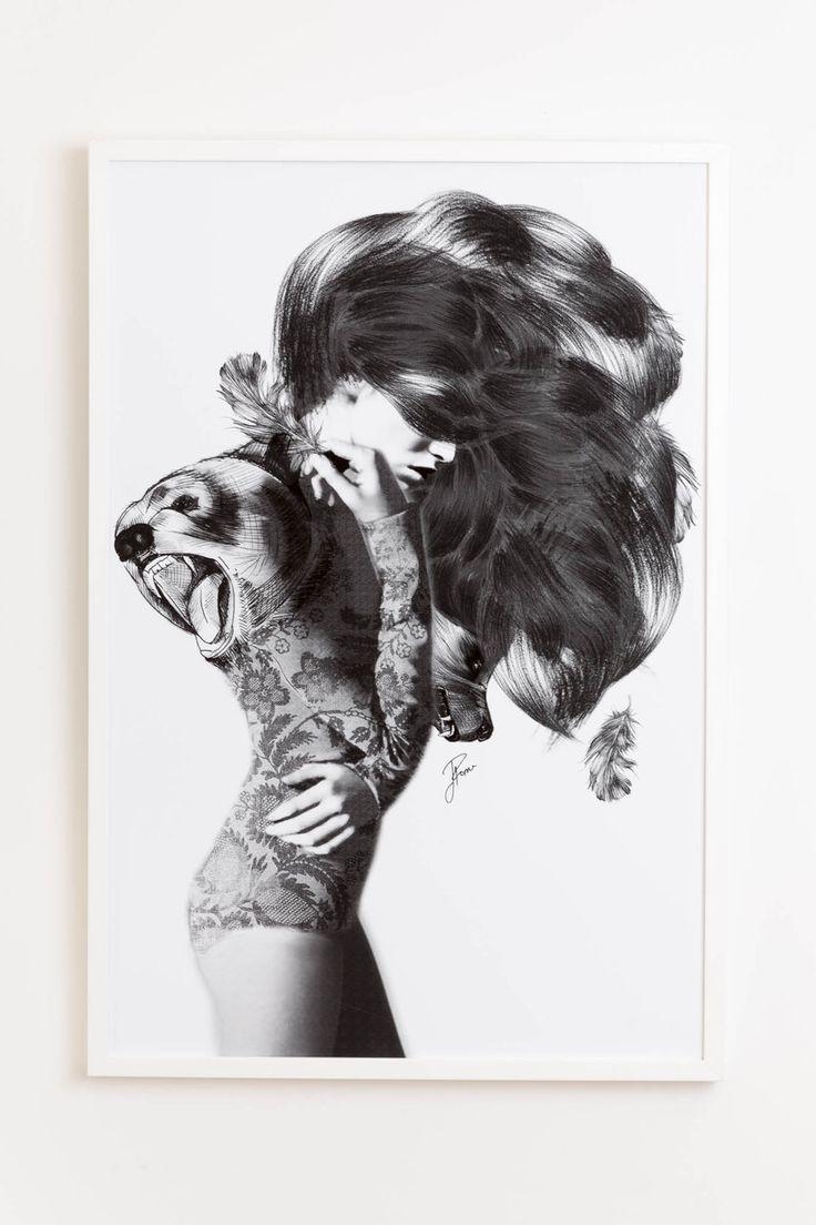 Jenny Liz Rome art print - Bear #2 (various sizes) - norsu interiors - 1