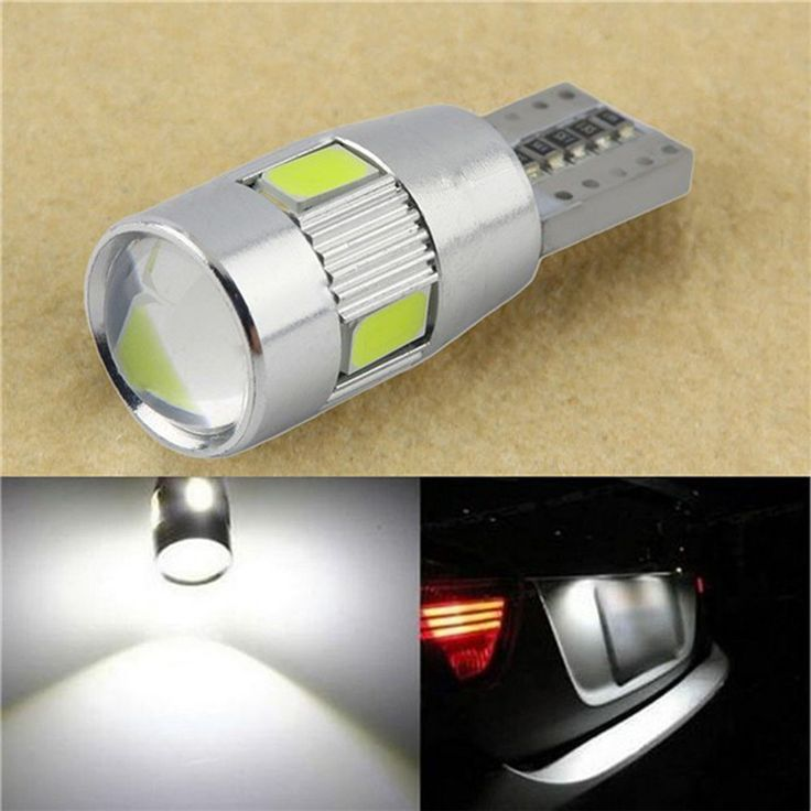Auto-styling 1 ST HID Wit T10 W5W 5630 6-SMD Auto Auto LED Lamp Lamp Voor Auto Accessoires