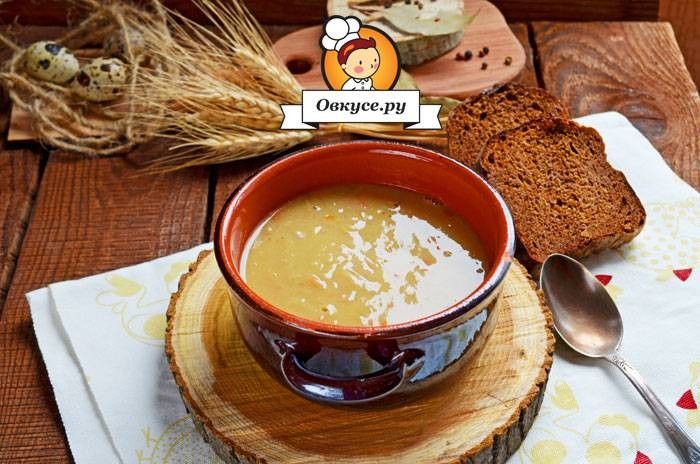 Гороховый суп с индейкой