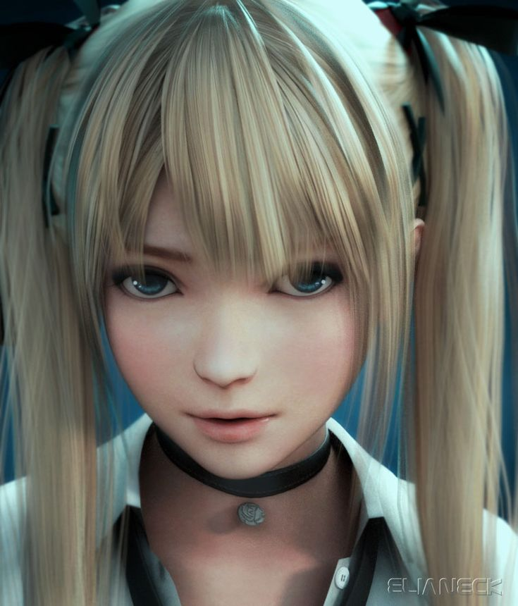 Doa Mary Rose face by elianeck on DeviantArt