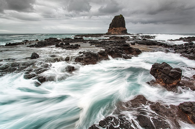 Pulpit Rock, at Cape Schank on Victoria's Mornington Peninsula