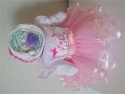 Unique Baby Gifts Baby Nappy Cake-  Baby Princess Nappy Cake