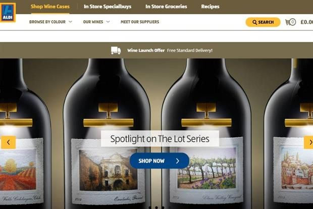 Aldi has made its first foray into online retail with the launch of a wine ecommerce site as it continues to take the fight to the big four supermarkets. They investing £35m in launching its ecommerce presence, which has begun with the sale of wine. Aldi is currently offering free delivery on wine deliveries as a special launch promotion. Customers will be charged £3 for delivery on any orders under £50.