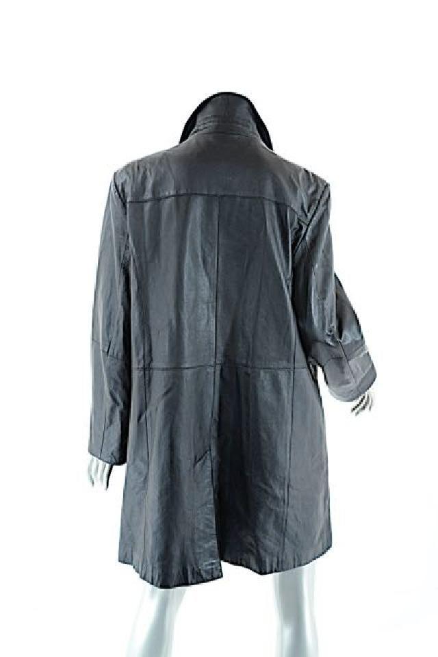 Marina Rinaldi Basic Leather Jacket