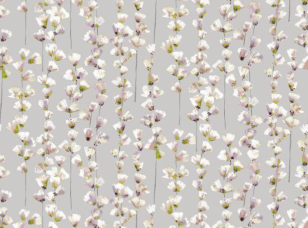 Honor Orchid | Saphira | Printed Cotton-Satin | Romo Fabrics | Designer Fabrics & Wallcoverings, Upholstery Fabrics