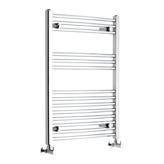 Etna Hydronic Chrome Heated Towel Warmer 31 5 X 23 5 Towel