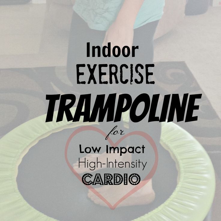 I Bought an Indoor Small Trampoline!