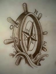helm compass tattoo - Google Search
