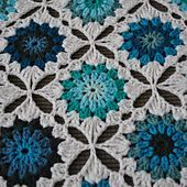 Wow I really like this one... crochet pattern @ Ravelry: Mod Afghan pattern by Taylor Tengelsen