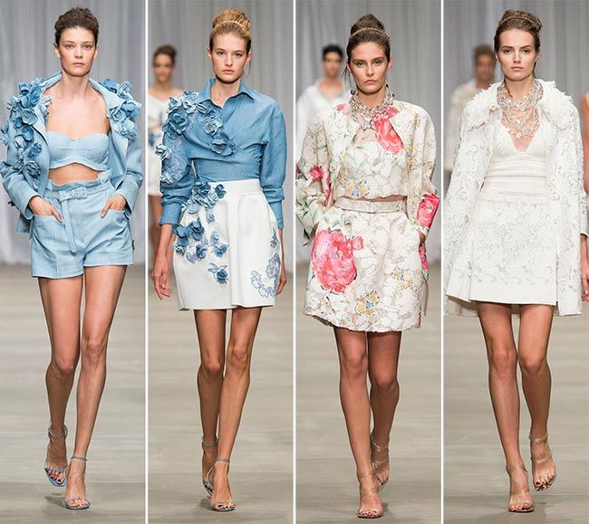 Ermanno Scervino Spring/Summer 2015 Collection - Milan Fashion ...★★Timothy John Designs★★◀http://timothyjohndesigns.com◀FIND US @ FACEBOOK◀TWITTER◀INSTAGRAM! semiprecious jewelry necklace earrings bracelets trendy luxurious handcrafted made in NYC USA~!