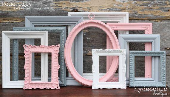 {Rose City Collection}  Hier ist die dünn:  Dieses Angebot gilt für ein Set Upcycled Frames aus unserer Rose City-Kollektion. Alle Frames