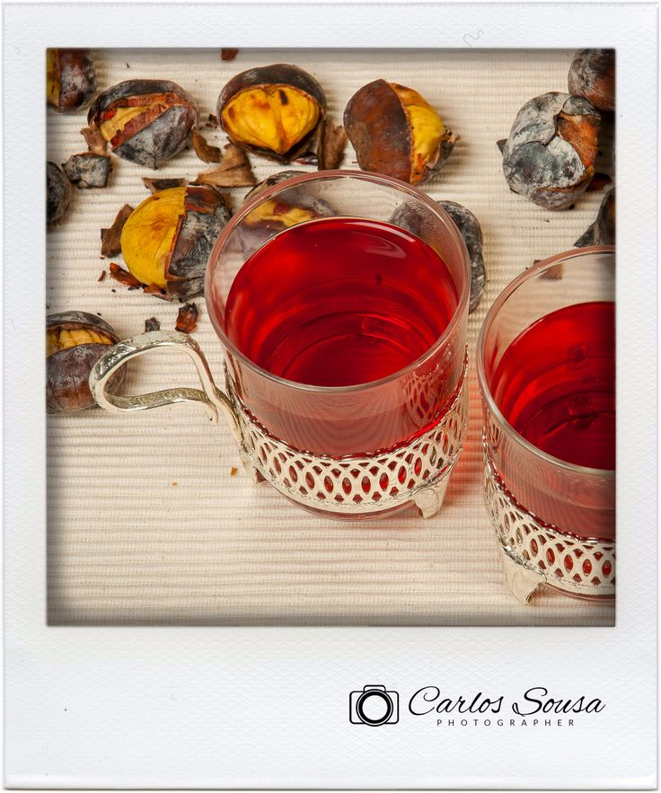 #teaparty #chestnuts #tea #raspberries