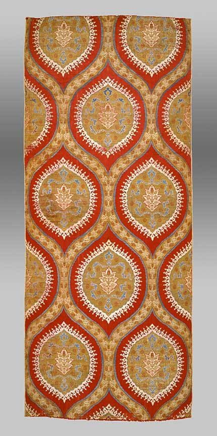 16th century ottoman silk textile, Turkey