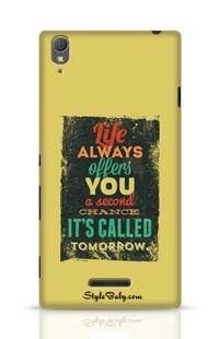 Life Always Offers You A Second Chance It Is Called Tomorrow Sony Xperia T3 Phone Case