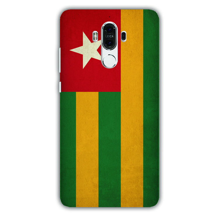 phone case Togo flag pattern for Huawei Mate 9 case