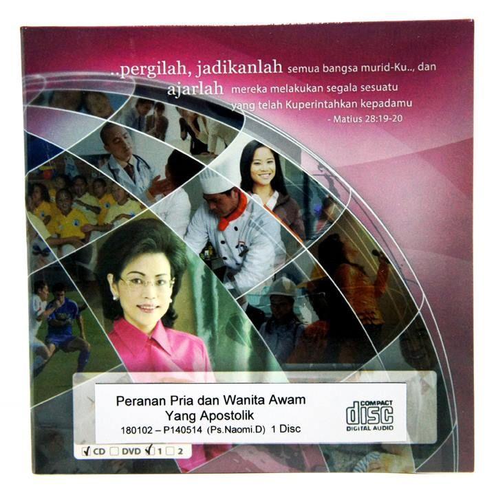 [Audio CD] Peranan Pria dan Wanita Awam yang Apostolik  #IndriGautama #Kekristenan #Apostolik