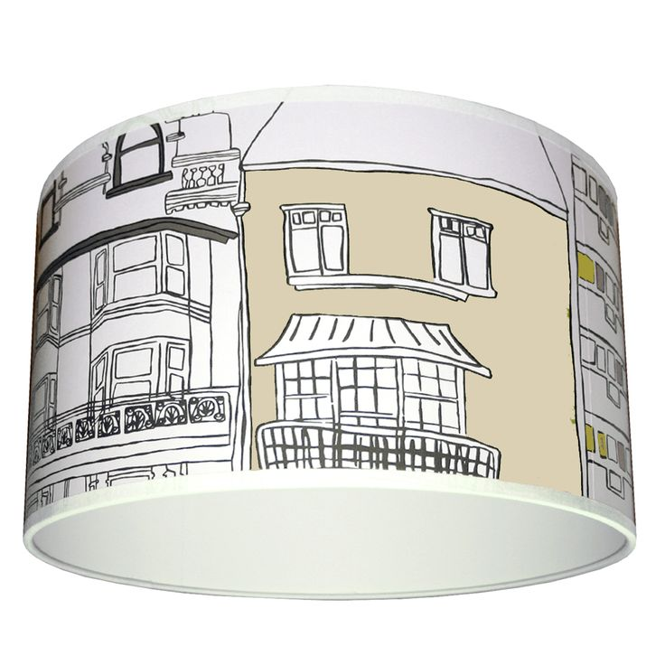 Brighton Lampshade by Harlequin in Stone