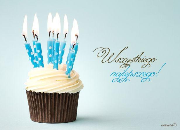Zdmuchnij świeczki •• Kartki urodzinowe •• aleKartki.pl