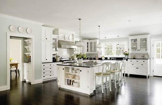 Nice kitchenKitchens Design, Dreams Kitchens, Kitchens Ideas, Dark Wood, Kitchens Cabinets, White Cabinets, Kitchen Designs, Dream Kitchens, White Kitchens