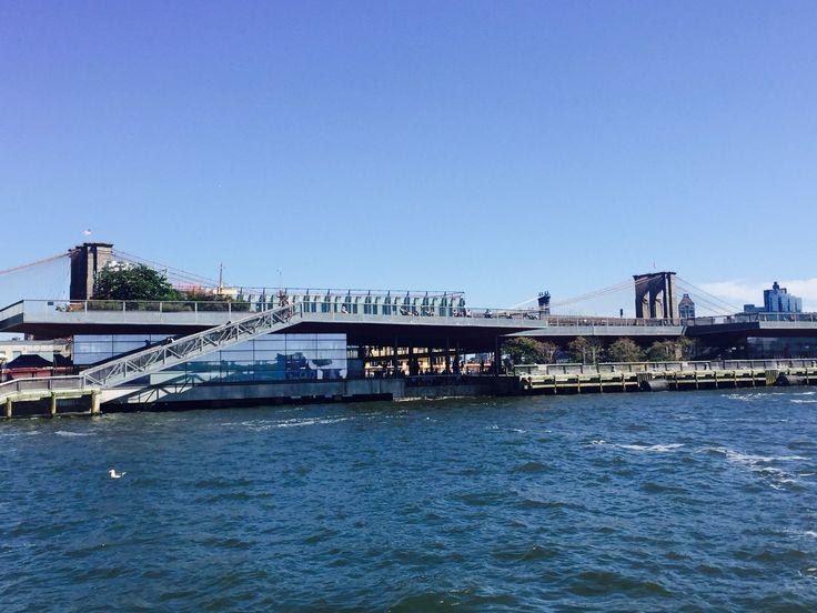 New York City Pier 15, Brooklyn Bridge, East River, United States of America, NYC, USA, Travel.jpg