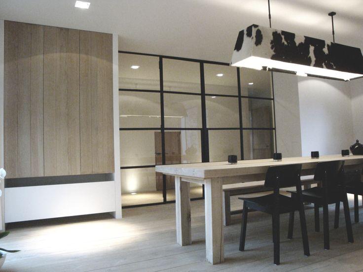 1000 images about woonkamer op pinterest ramen glazen planken en keuken interieur - Eetkamer interieur decoratie ...