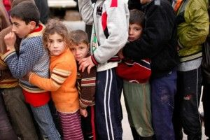 London, March 13 - Syria's children are the conflict's