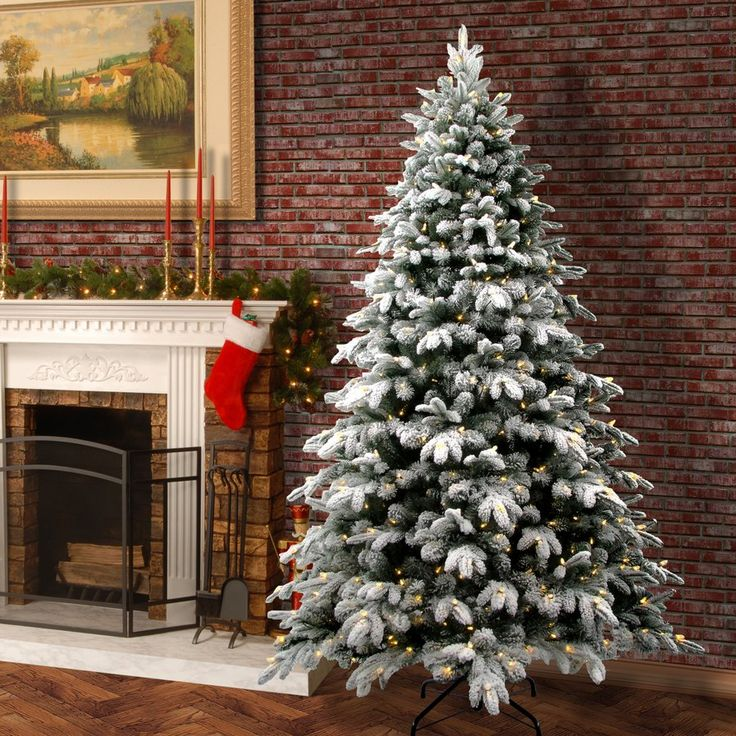 Snowy Avalanche Fir Artificial Christmas Tree with