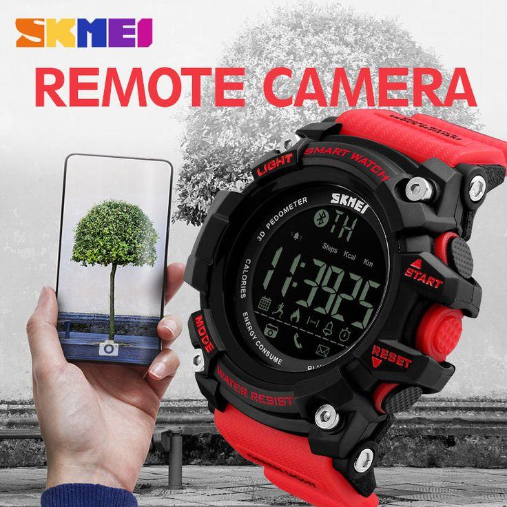 SKMEI Smart Watches Men Sports Digital Bluetooth Watch Sleep Tracker Call Reminder Wristwatches EL Light Relogio Masculino 1227 #Sports watches http://www.ku-ki-shop.com/shop/sports-watches/skmei-smart-watches-men-sports-digital-bluetooth-watch-sleep-tracker-call-reminder-wristwatches-el-light-relogio-masculino-1227/