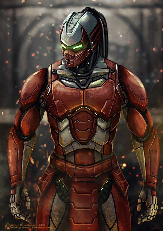 Sektor - Mortal Kombat by TwentySevenAB on DeviantArt