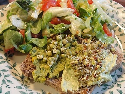 pistachio crusted tofu salad pistachio tofu salad # vegan salad days ...