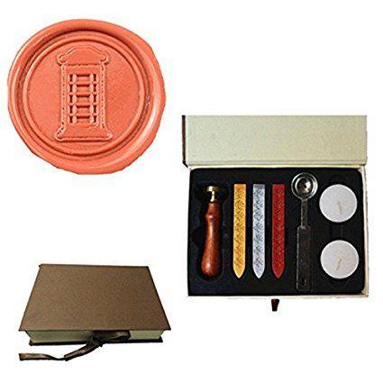 MDLG Vintage Telefooncel Custom Foto Logo Huwelijksuitnodiging Lakzegel Afdichting Stamp Sticks Lepel Geschenkdoos Set Kit