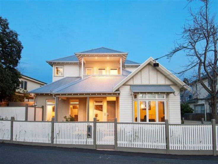 Two Story Ideas For Triple Fronted Weatherboards